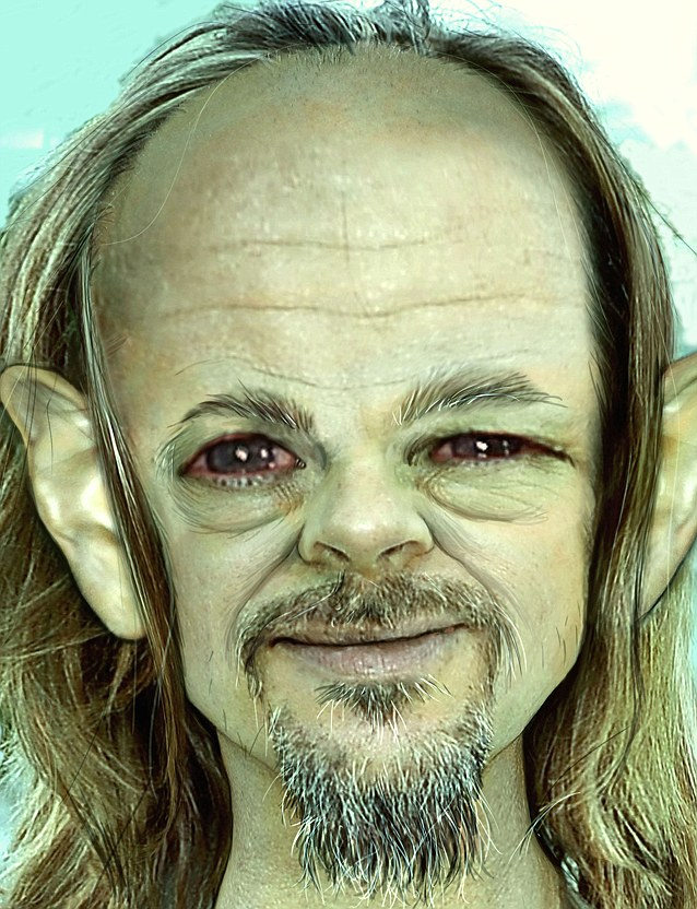 EXCLUSIVE: Celebrities transformed into Gollum-style creatures as 'The Hobbit' hits cinemas